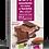 Thumbnail: CHOCOLAT AU LAIT 25% AMANDES ENTIÈRES & RAISINS 180 gr