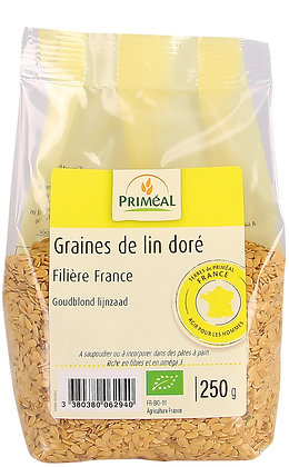 graine de lin doré France, 250 gr