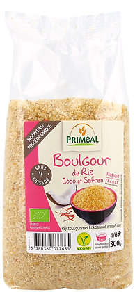 boulgour Express de riz, coco et safran, 300 gr