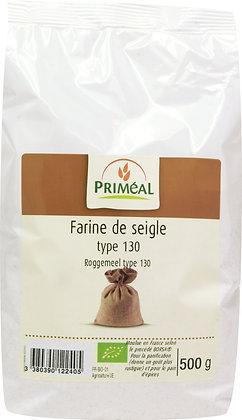 farine de seigle France T130, 500 gr