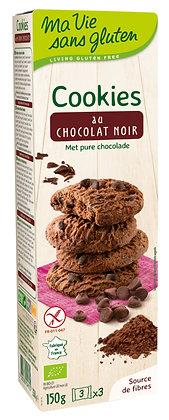 COOKIES CHOCOLAT NOIR 150 gr