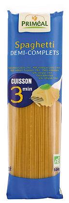 spaghetti demi-complets cuisson rapide, 500 gr