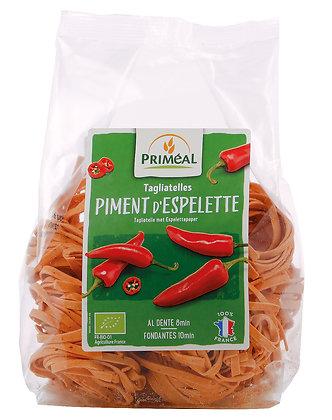 tagliatelles au piment d'Espelette AOP 100% France, 250 gr