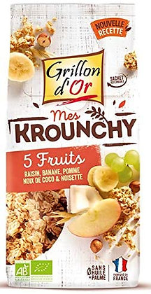 KROUNCHY 5 FRUITS, 500 g