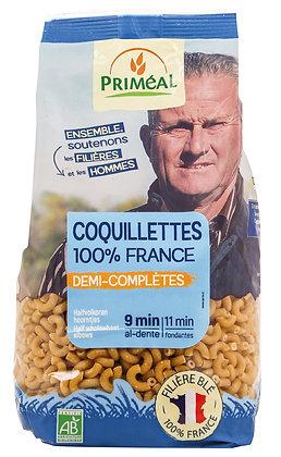 coquillettes 100% France demi-complètes, 500 gr