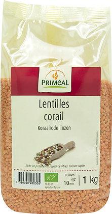 lentilles corail,1 kg