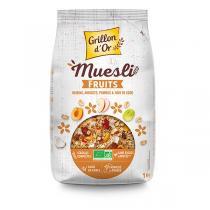 MÜESLI FRUITS, 1 kg
