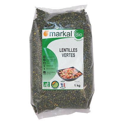 LENTILLES VERTES, 1 kg