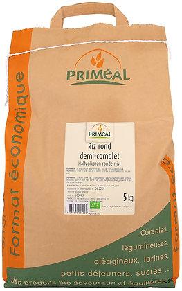 riz rond 1/2 complet, 5 kg