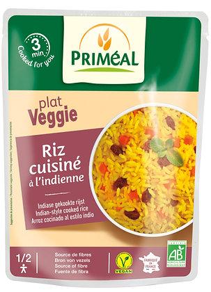 riz cuisiné à l'indienne, 220 gr