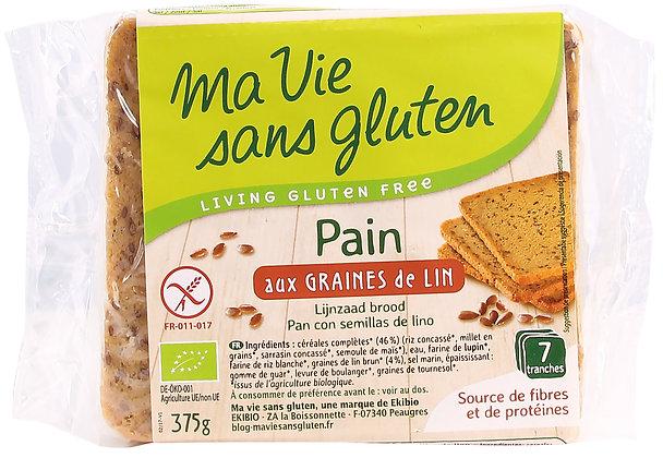 PAIN aux graines de lin 375 gr
