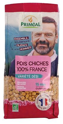pois chiches décortiqués variété Dési France, 500 gr