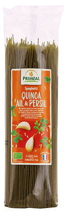 spaghetti quinoa, ail & persil, 500 gr
