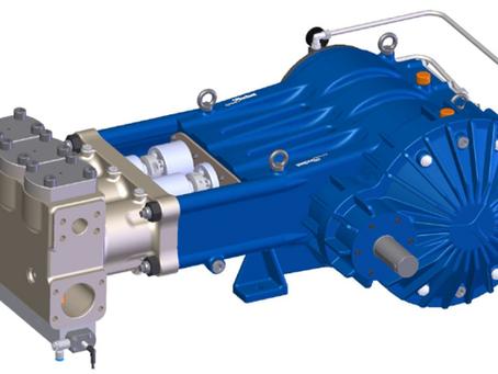 WEPUKO - DPX 125 - Hochdruck-Plungerpumpe