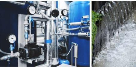 Wasseraufbereitung mit der Pumpen- und Filtertechnologie von Sager + Mack.