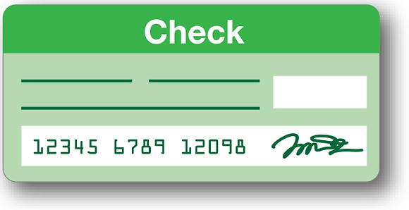 DISCHARGE CHECK TEMPLATE  Donation 25$