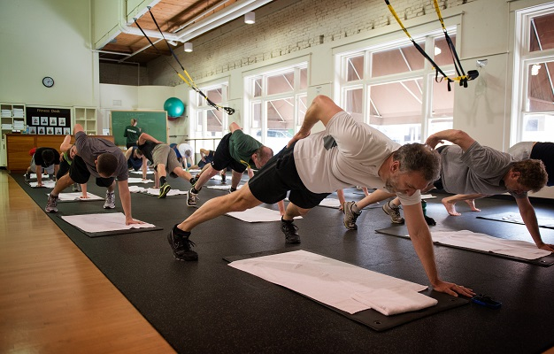 Fitness Floor/ TRX Area