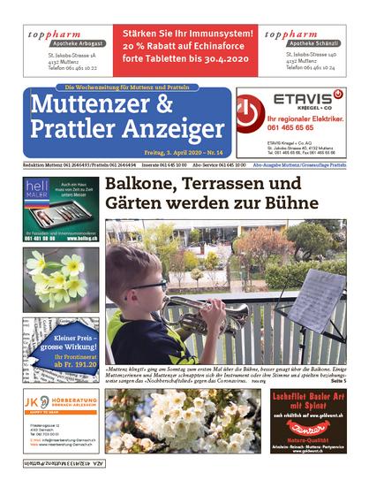 Muttenzer & Prattler Anzeige