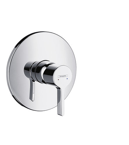 HANSGROHE METRIS S SHOWER CONC.F-SET CHROME
