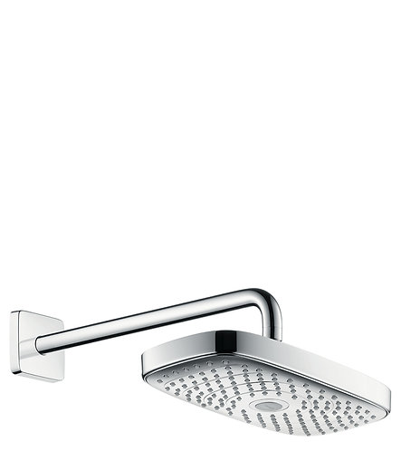 HANSGROHE RD SELECT E 300 2JET OH WALL CHROME