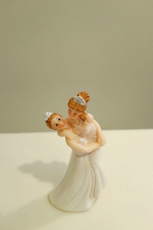Couple de mariés femme