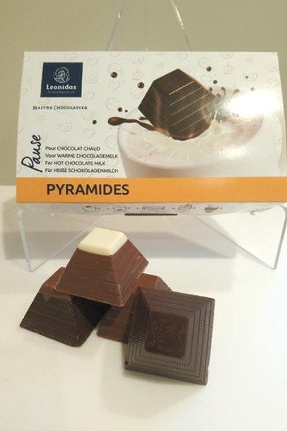 Boîte Pyramides pour Chocolat chaud
