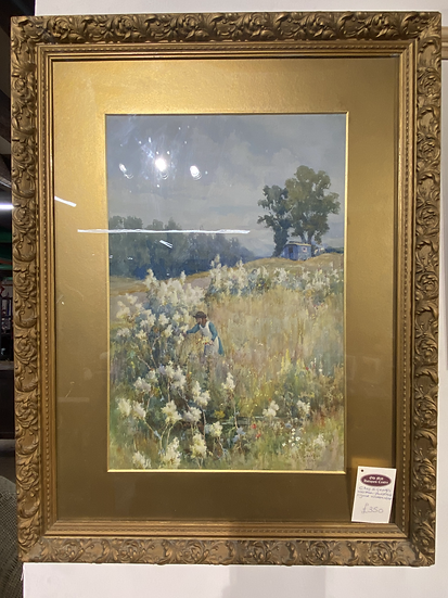 Charles E. Georges (1869-1970) - Signed Watercolour