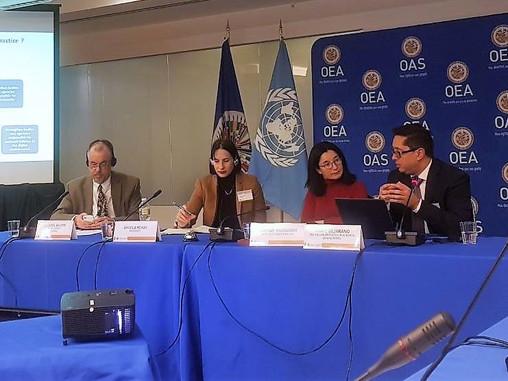 CEO de Tech & Law, participó como panelista en Taller sobre asuntos Cibernéticos de Seguridad In