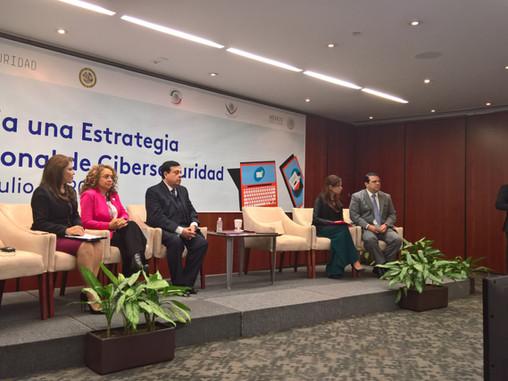 Foro: Hacia una estrategia nacional de ciberseguridad - México - 11 de julio de 2017