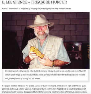 E. LEE SPENCE – TREASURE HUNTER