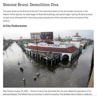 Simone Bruni: Demolition Diva