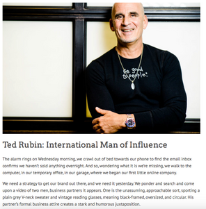 Ted Rubin: International Man of Influence