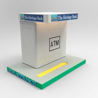 ATM Drive Up Kiosk