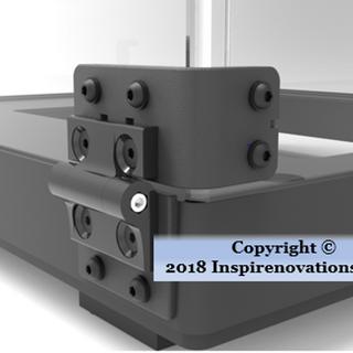 R3D 3D Printer Hinge Concpet for 3D Printing