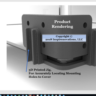 R3D JIG Adding Holes to Lexan Cover