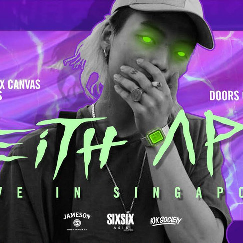 Jameson x Canvas Presents Keith Ape Live