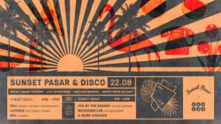 Sunset Pasar + Disco