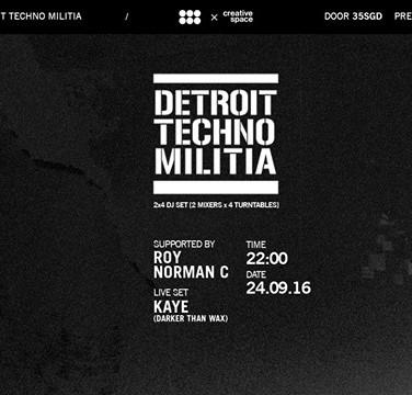 BLOW Canvas' 2nd Anniversary: Detroit Techno Militia