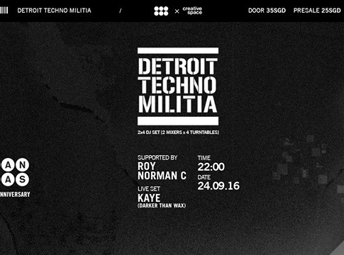 BLOW Canvas' 2nd Anniversary: Detroit Techno Militia