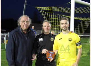 TADLEY WIN TEAM OF THE MONTH FOR AUGUST