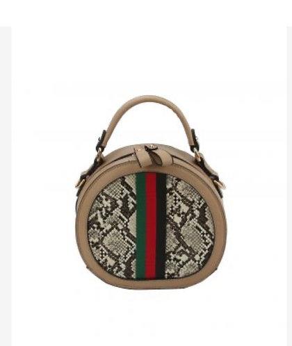 Fashion Faux Snakeskin Handbag