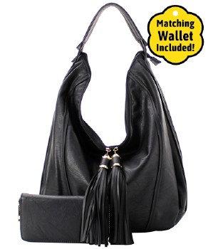 Shoulder Bag  with Fringe Tassels