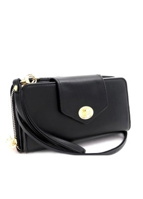 Compartment Wallet Cross Body