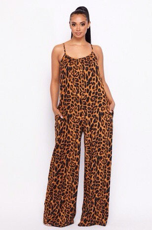 Leopard Jumpsuit