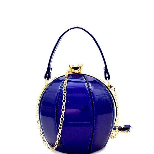 Patchwork Ball-Shaped Handbag