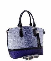Fashion Faux Croc/Ostrich Handbag