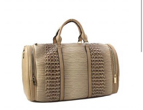 Fashion Faux Croc Duffel Bag