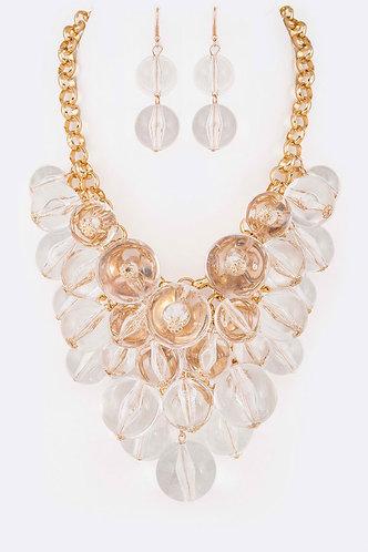 Mix Beads Necklace Set