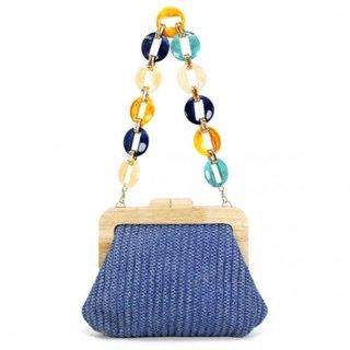 Acrylic Bead Handle Bag