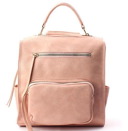 Backpack/Handbag + Sanitizer Pouch